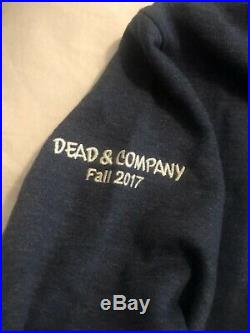 Grateful DEAD AND COMPANY M Hoodie Official Tour Medium poster pin 2017 New