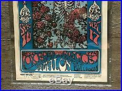 Grateful Dead 1966 Family Dog FD 26 Skull & Roses 1st Print CGC 8.5 Mouse Signed