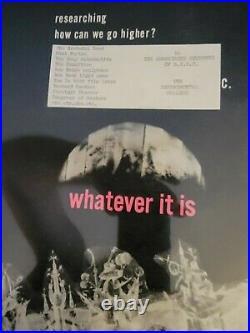 Grateful Dead 1966 Sf State Acid Test With The Sticker Original Concert Poster
