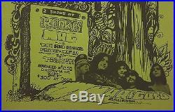 Grateful Dead 1967 Fresno Rockys Mag Fillmore-Era Concert Handbill Flyer