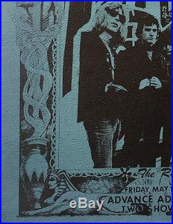 Grateful Dead 1967 Marigold Rick Griffin Fillmore-Era Concert Handbill