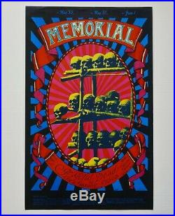 Grateful Dead 1968 AOR 2.160 Carousel Ballroom Memorial Poster