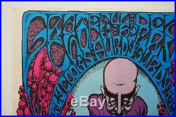 Grateful Dead 1968 Acid Dropper Carousel Ballroom Concert Poster