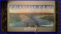 Grateful Dead 1981 Artista Dead Set Promo Poster