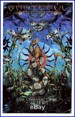 Grateful Dead 1995 Deer Creek Everett Poster ORIGINAL PRINTING EDITION OF 10