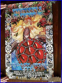 Grateful Dead 1995 Final Tour Concert Poster Everett 1st 3829/4500