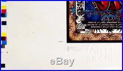 Grateful Dead 1995 Last Summer Tour 25x40 Poster Michael Everett signed numbered