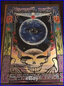 Grateful Dead 1995 Summer Tour Eyes Of The World Poster/original/rare