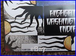 Grateful Dead 1995 Summer Tour Final Poster 1st Ed Michael Everett #'d Phish