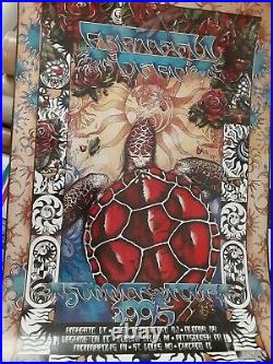 Grateful Dead 1995 Summer Tour Poster poster numbered everett almost perfect