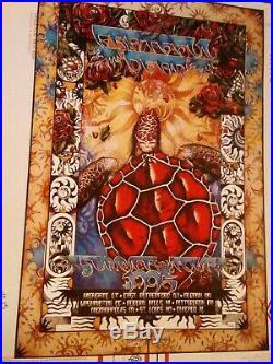 Grateful Dead 1995 summer tour poster everett mint condition rare ships today
