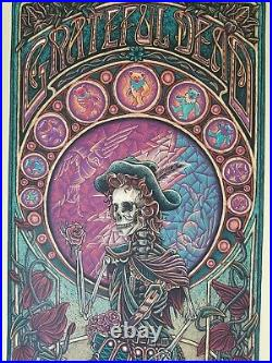 Grateful Dead 2 Poster Jack Straw Luke Martin VARIANT/200 Stella Blue AJ Masthay