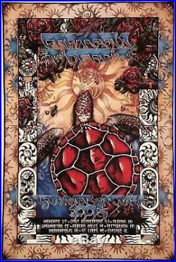 Grateful Dead 2 Tour Posters Summer & Fall 1995 Mint