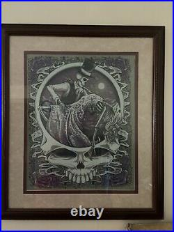 Grateful Dead 50 Fare Thee Well One Last Dance Poster Variant LE of 100 FRAMED