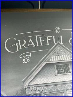 Grateful Dead 710 Ashbury Variant Art Print Poster Nicholas Moegly XX/125 BNG