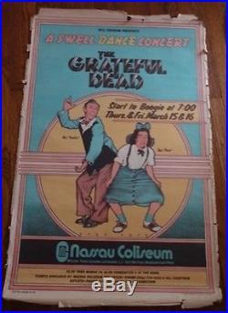 Grateful Dead A Swell Dance Concert BG-288 Original 25x38