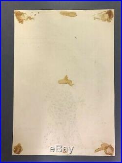 Grateful Dead AOR 2.194 Original Poster 1st Winterland Show Love Moby Grape 1967