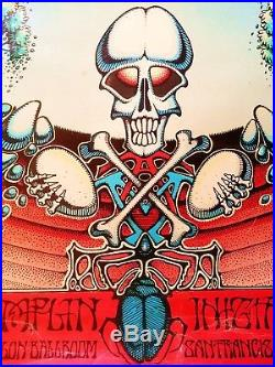 Grateful Dead AOXOMOXOA Poster by Rick Griffin Original FIRST PRINTING