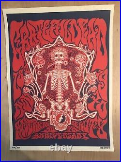 Grateful Dead American Beauty 50 Anniversary Print Poster Company Liane Plant