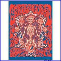 Grateful Dead American Beauty 50th Anniversary Poster FREE SHIPPING