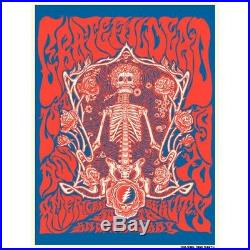 Grateful Dead American Beauty 50th Anniversary Poster Print Liane Plant Sold Out