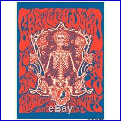 Grateful Dead American Beauty 50th Anniversary Print by Liane Plant Sold Out