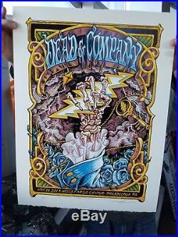 Grateful Dead And Company 11/16 Poster Philadelphia Pa