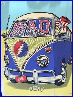 Grateful Dead And Company Noblesville 6/17 2016 Poster Print