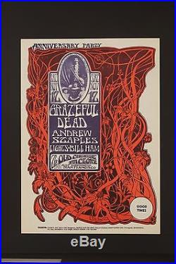 Grateful Dead Anniversary Party Original Poster By Stanley Mouse &alton Kelly