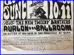 Grateful Dead Avalon Ballroom 1960's psychedelic Quick and the Dead Quicksilver