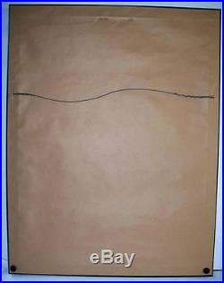 Grateful Dead Avalon Ballroom FD-33 1st Print Poster Signed Mouse & Kelley 1966