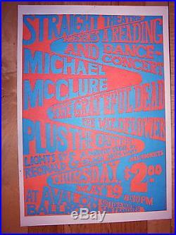 Grateful Dead Avalon Ballroom Poster FD BG AOR