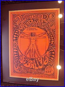Grateful Dead Beaux Arts Ball Poster FD BG AOR