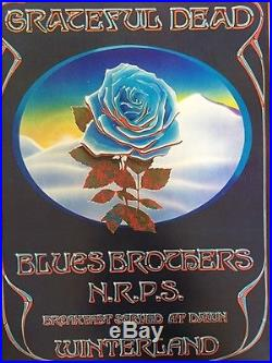 Grateful Dead Blues Brothers 1978 Winterland New Years Mouse Kelley Poster