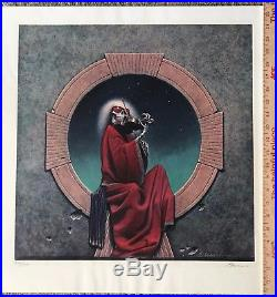 Grateful Dead Blues For Allah Artist Signed Lithograph