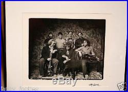 Grateful Dead & Bob Dillion 1987-Herb Greene Signed Framed