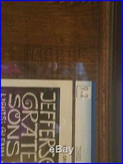Grateful Dead CGC Graded Concert Poster BG 197 Signed