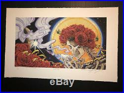 Grateful Dead Celestial Tea Poster Print Official S/N AJ Masthay Giclee NYCC 18