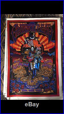Grateful Dead Chicago Il GD 50 Poster Print Richard Biffle Field Fare Thee Well