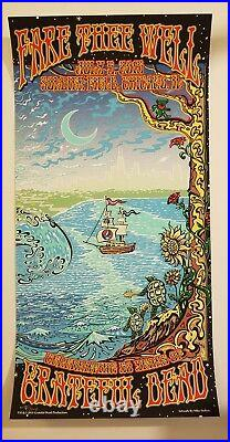 Grateful Dead ChicagoGD 50 Poster Print Mike Dubois 7/5/15 Fare Thee Well MINT