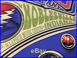 Grateful Dead Company Noblesville 6/17/2016 NUMBERED POSTER 126/1250 John Mayer
