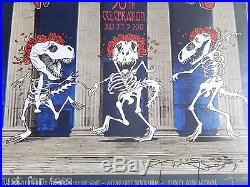 Grateful Dead Company Poster Art HAND Sign LOW #/100 STANLEY MOUSE No Ticket FTW
