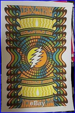 Grateful Dead Concert Poster Columbus Dead and Company