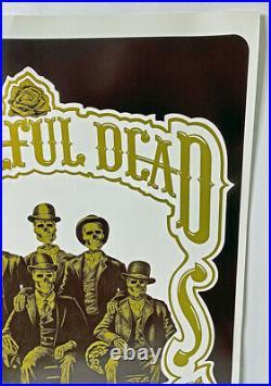 Grateful Dead Concert Poster In Telluride 1987, signed by artist Steve Johannsen
