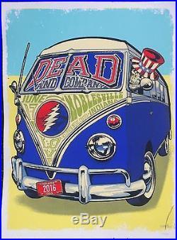 Grateful Dead Dead And Company Noblesville Poster #101