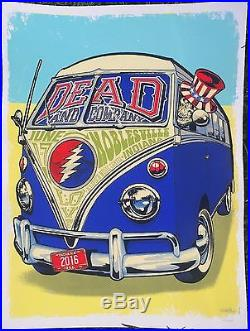 Grateful Dead Dead And Company Noblesville Poster #102