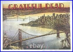 Grateful Dead Dead Set San Francisco Poster 25.25 x 35.75
