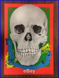 Grateful Dead Denver 1967 Original Concert Poster Fd82 Family Dog Fillmore