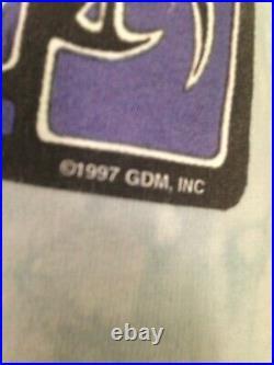 Grateful Dead EYES OF THE WORLD Vintage Shirt GDM 1997 Biffle SUMMER 1995 Poster