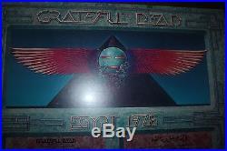 Grateful Dead Egypt 1978 framed poster